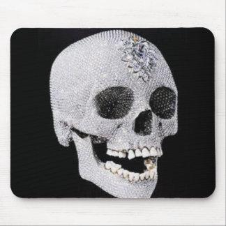 Diamond skull product mouse pad