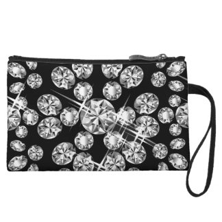 Diamond Snowflake (Enlarged) Wristlet