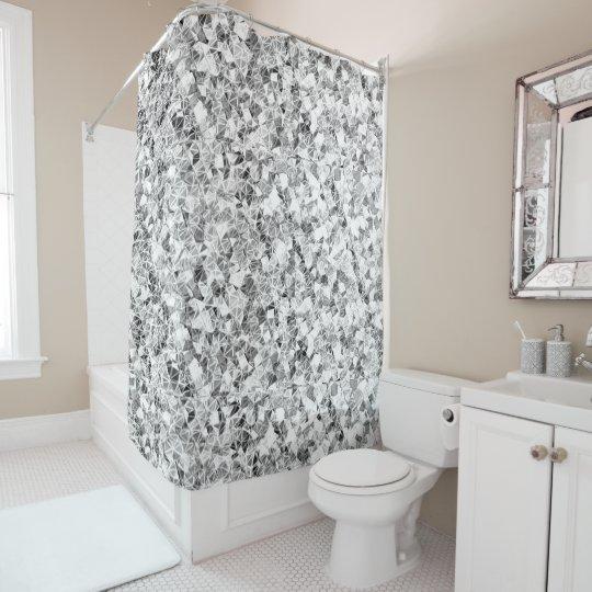 Diamond Sparkle Shower Curtain