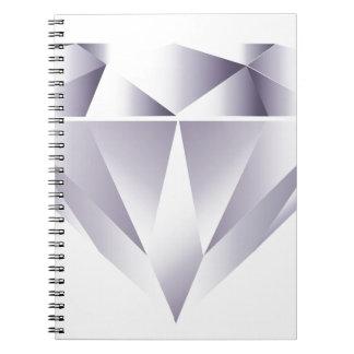 Diamond Spiral Note Books