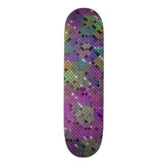 Diamond square pattern design by James Black Skate Board Deck