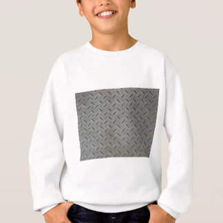 Diamond steel background sweatshirt