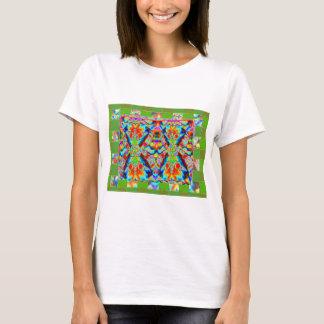 Diamond Sutra Green Girls T-Shirt