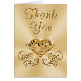 Diamond Thank You Cards for Any Occasion
