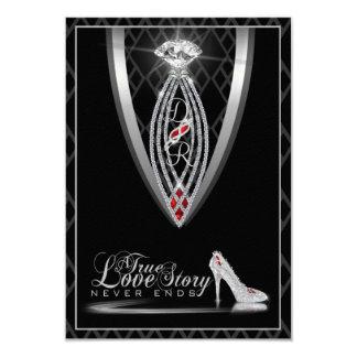 Diamond Tie Thank You Card