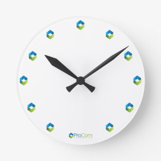 Diamond-Time ProCom Consulting Clock