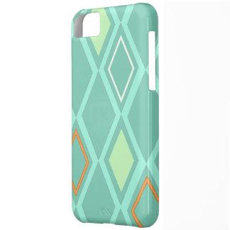 Diamond Wallpaper Aqua - Mate Case Case For iPhone 5C