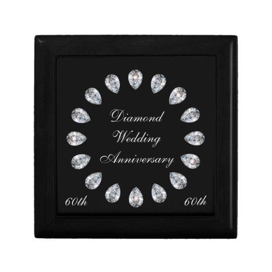 Diamond Wedding Anniversary Gift Box