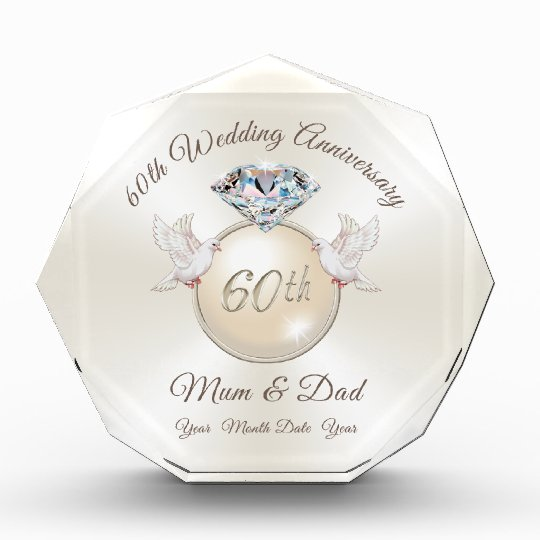 25th Wedding Anniversary Gifts For Mum And Dad: Diamond Wedding Anniversary Gifts For Mum And Dad