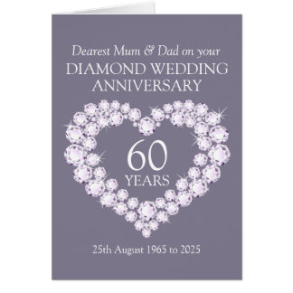 search results for 25 wedding anniversary greeting image With diamond wedding invitation cards uk