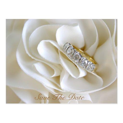 Diamond Wedding Rings Postcards