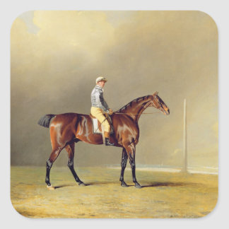 Diamond, with Dennis Fitzpatrick Up, 1799 (oil on Square Sticker