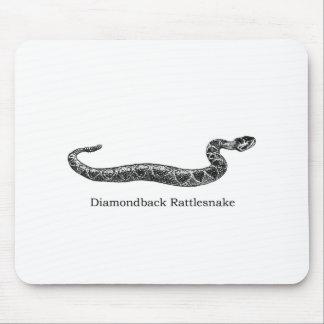 Diamondback Rattlesnake Mouse Pad