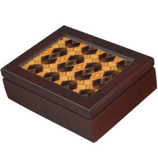 Diamondback Weave Keepsake Boxes