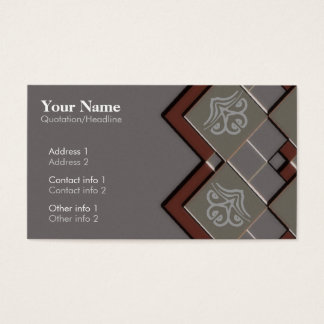 Diamondia Business Card