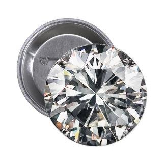 Diamonds 6 Cm Round Badge