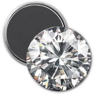 Diamonds 7.5 Cm Round Magnet
