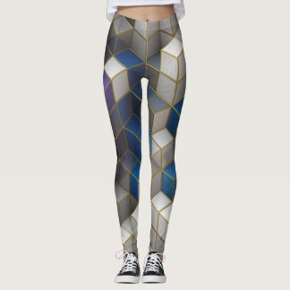Diamonds and Squares Leggings