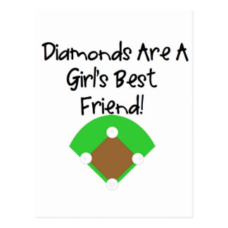 Diamonds are a Girl's Best Friend! Post Cards
