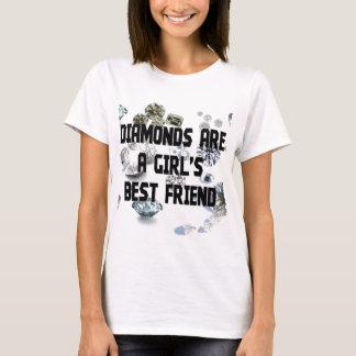 Diamonds Are A Girl's Best Friend T-Shirt