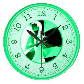 diamond's are a girls best friend wall clock