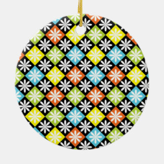 Diamonds Arygle Christmas Ornament