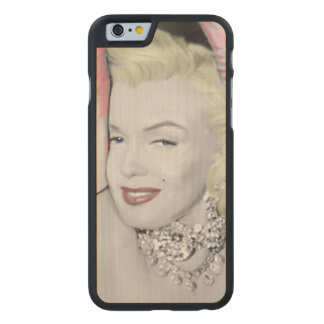 Diamonds Carved® Maple iPhone 6 Slim Case