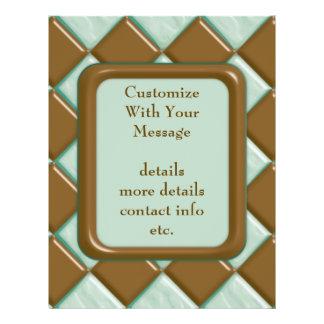 Diamonds - Chocolate Mint Custom Flyer