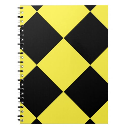 Diamonds Spiral Notebook
