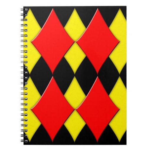 Diamonds Note Book