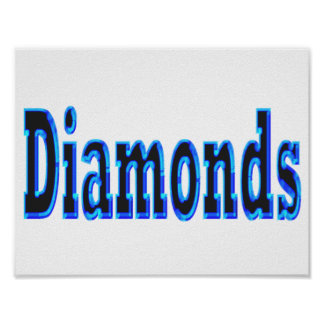 Diamonds Poster