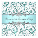 Diamonds Silver Blue All Occasion Party