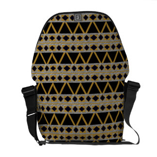 Diamonds & Triangles Commuter Bag