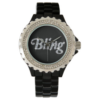 Diamonte Watch featuring faux diamond bling design
