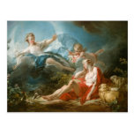 Diana and Endymion By Jean-Honoré Fragonard Post Card