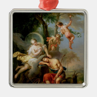 Diana and Endymion Christmas Ornament