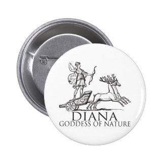 Diana 6 Cm Round Badge