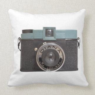 Diana Camera Throw Pillow