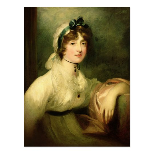 Diana Sturt, later Lady Milner, 1800-05 Postcard