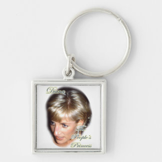 Diana the peoples princess keychains