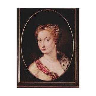 Diane de Poitiers Canvas Print