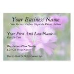Dianthus Plumarius Flower Business Card Templates