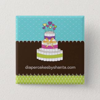 Diaper Cake Advertising Pin