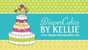 Baby cakes business cards business card printing zazzle uk diaper cake business cards reheart Choice Image