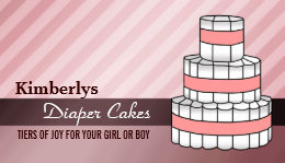 Baby diaper cake business cards business card printing zazzle uk diaper cake business cards reheart Choice Image