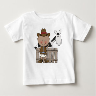 Diaper Derby Cowboy Pony Infant Toddler Boys Baby T-Shirt