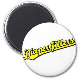 Diaper Fillers in Yellow Magnets