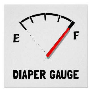 Diaper Gauge 2 Poster