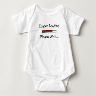 Diaper Loading... Baby Bodysuit