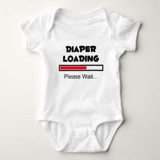 Diaper Loading - Please Wait... Baby Bodysuit